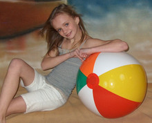 "24"" 5 Color Beach Ball"