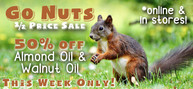 GO NUTS SALE