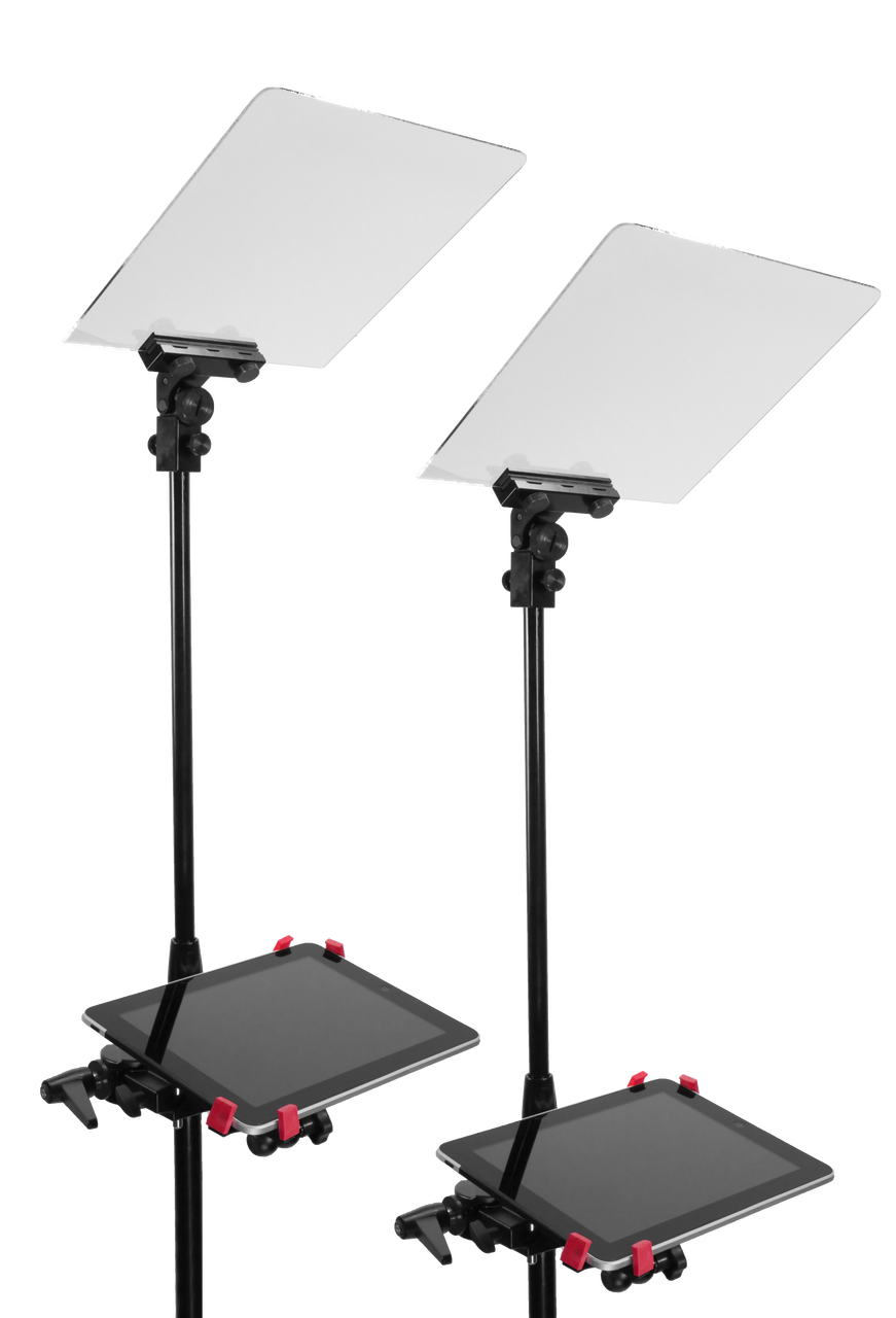 Stage Pro  iPad/Tablet Presidential Pair Teleprompters