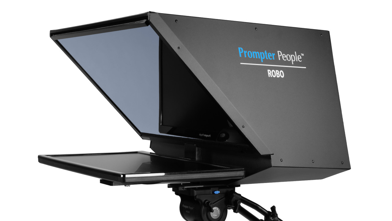 Robo and PTZ Camera Broadcast and Studio Teleprompter - Angled B