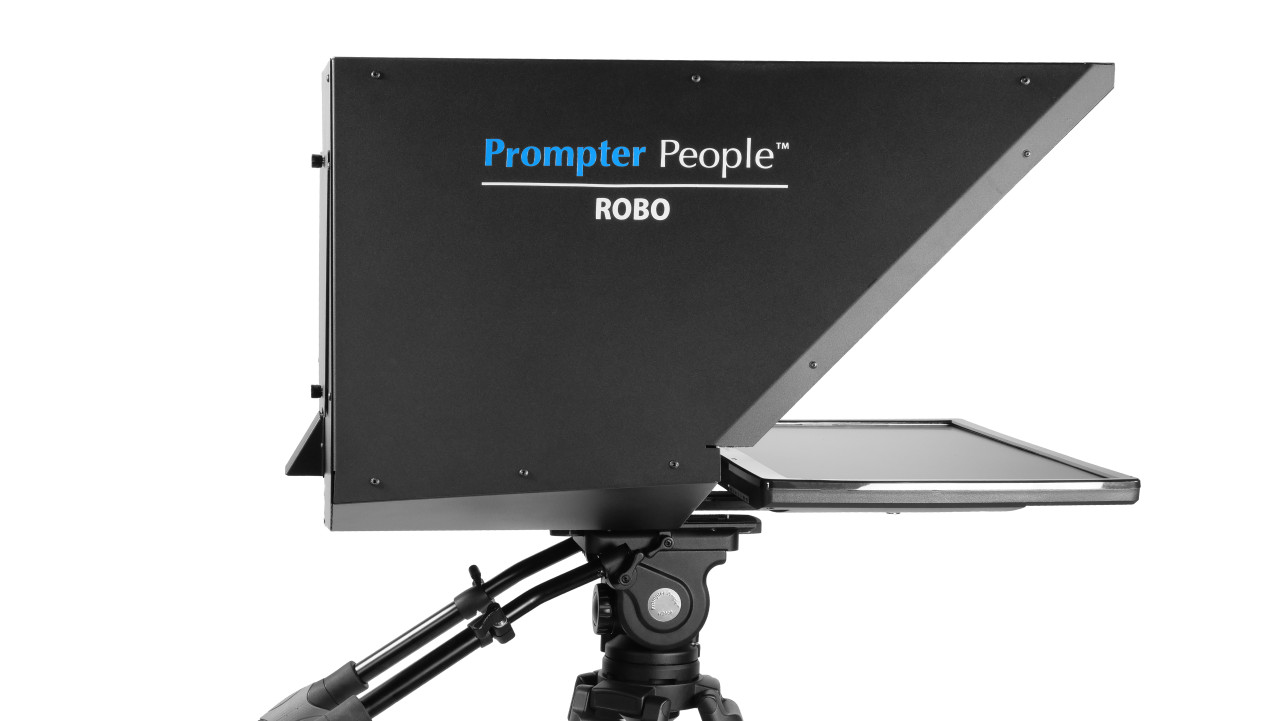 Robo and PTZ Camera Broadcast and Studio Teleprompter - Side