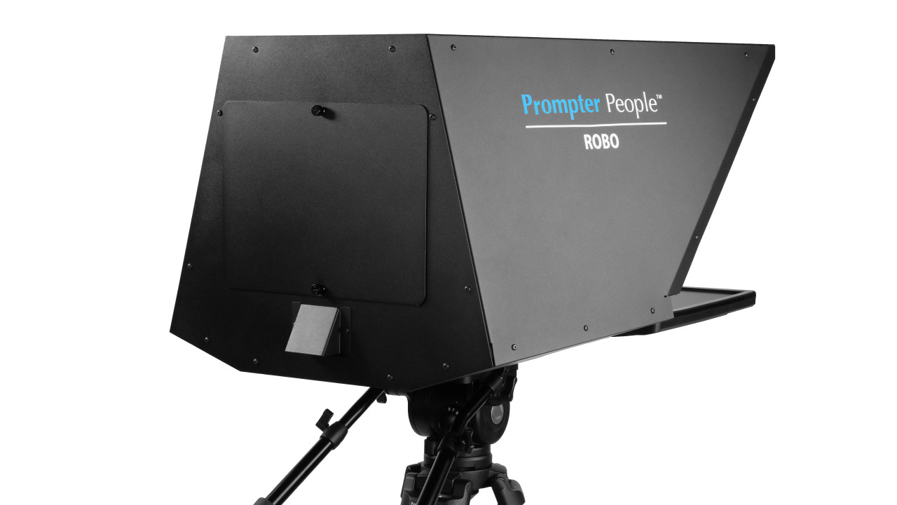 Robo and PTZ Camera Broadcast and Studio Teleprompter - Back