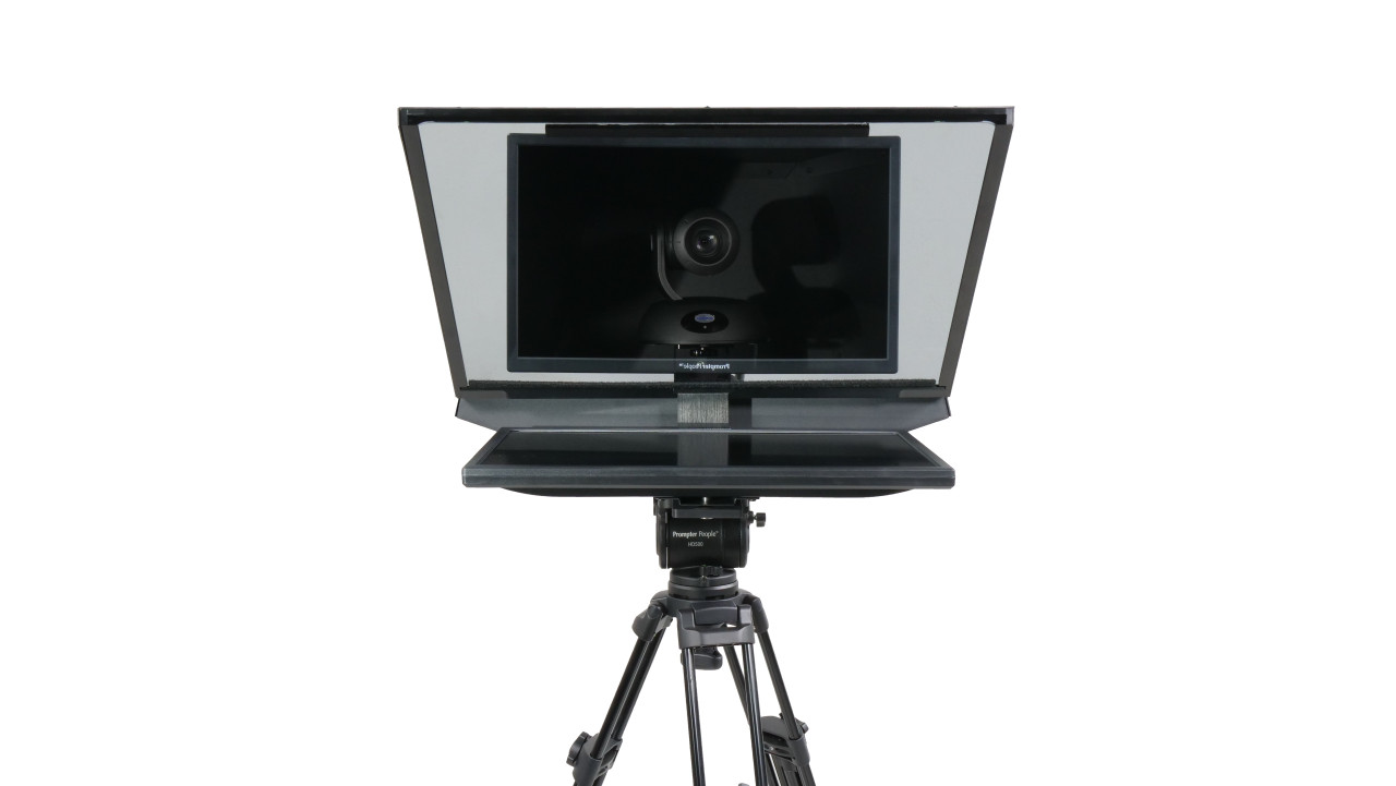 "ROBO Robotic Camera and PTZ Teleprompter 21.5"" 400 NIT   HD-SDI, HDMI - Face"