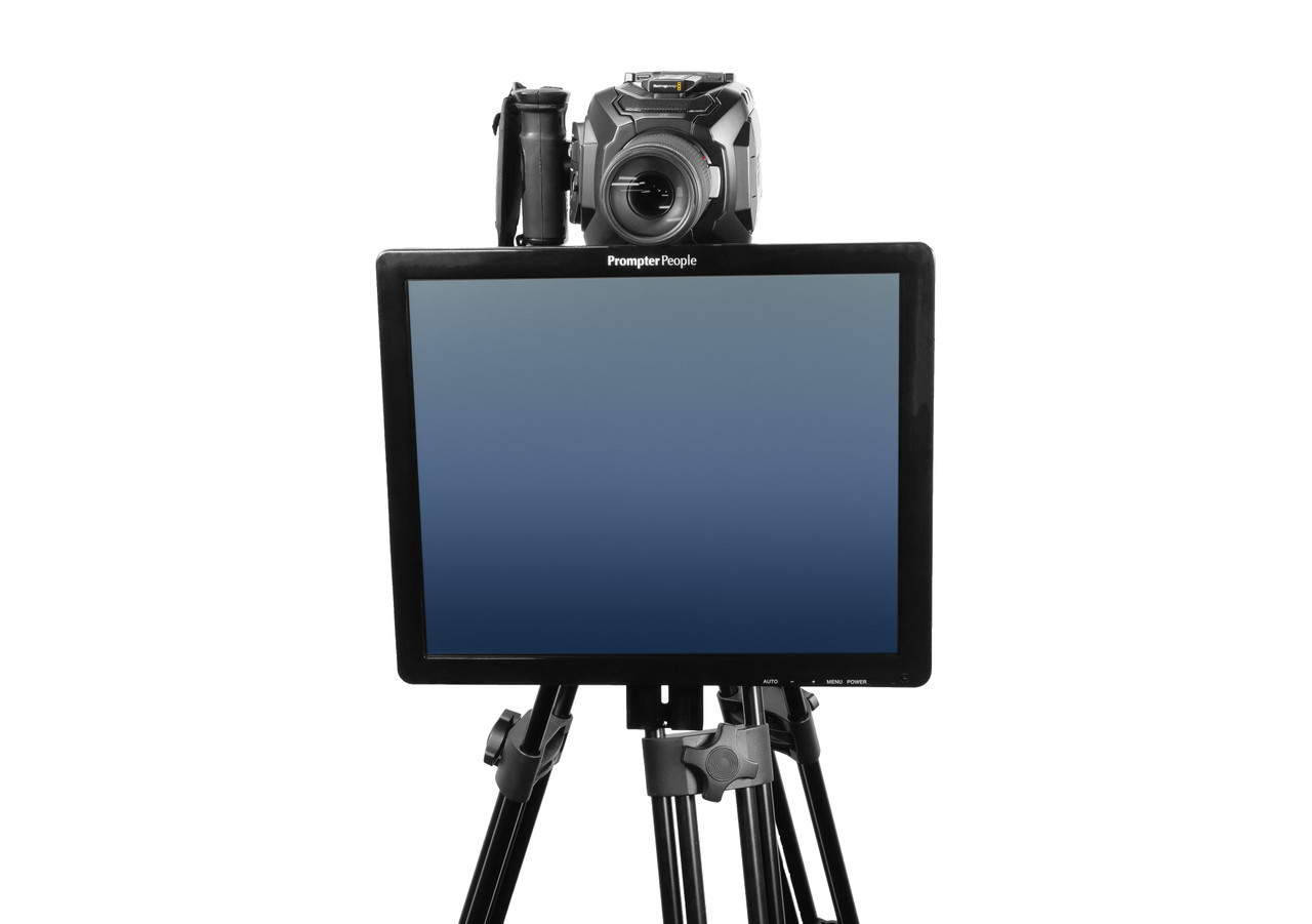 Undercamera 17 Teleprompter - PrompterPeople with Freesoftware - Front