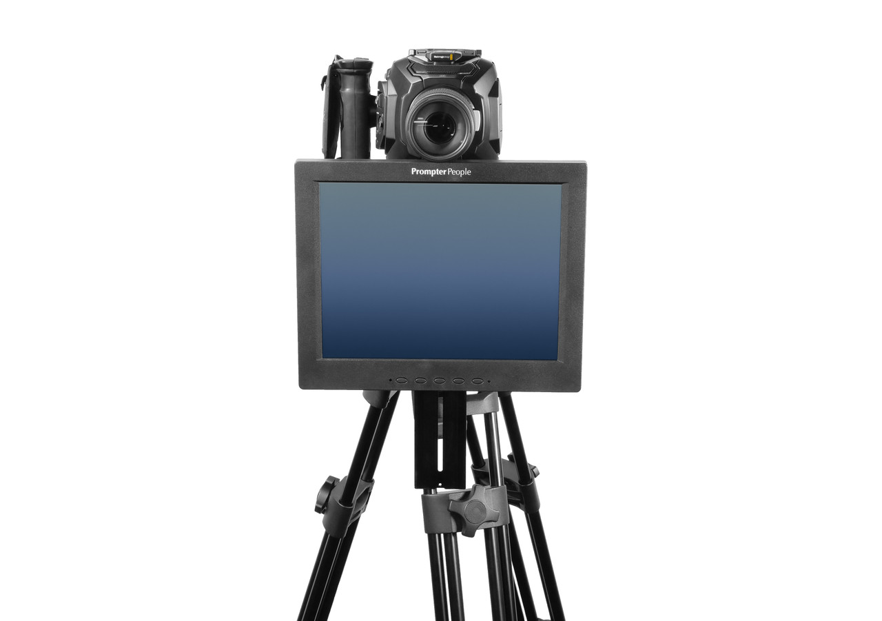 Undercamera 12 Teleprompter - PrompterPeople with Freesoftware - Front