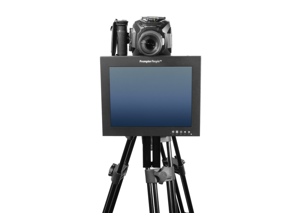 Undercamera 12 HB Teleprompter - PrompterPeople with Freesoftware - Face