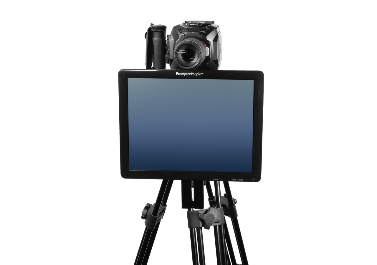 Undercamera 15 Teleprompter - PrompterPeople with Freesoftware - Front