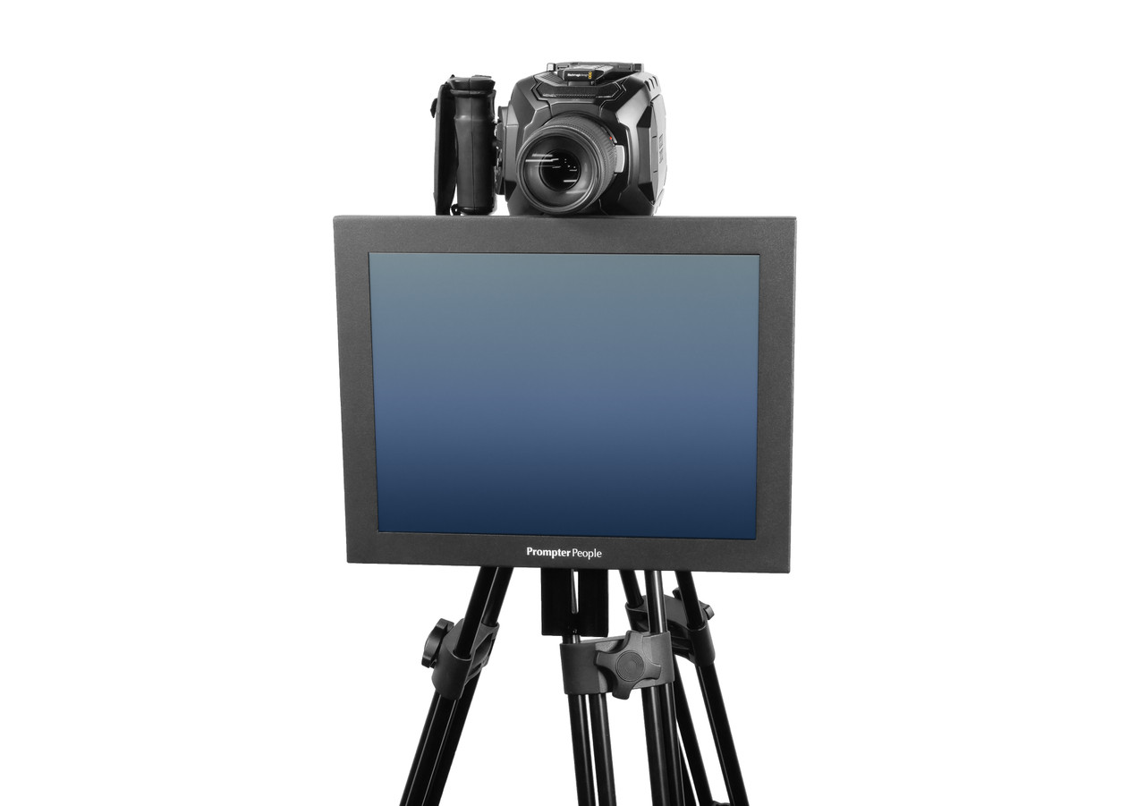 Undercamera 15 HB Teleprompter - PrompterPeople with Freesoftware - Front