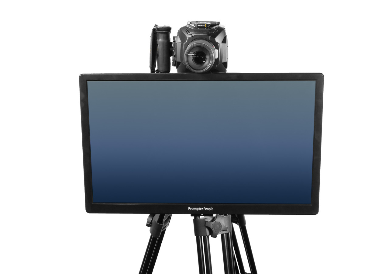 Undercamera 24 Teleprompter - PrompterPeople with Freesoftware - Front