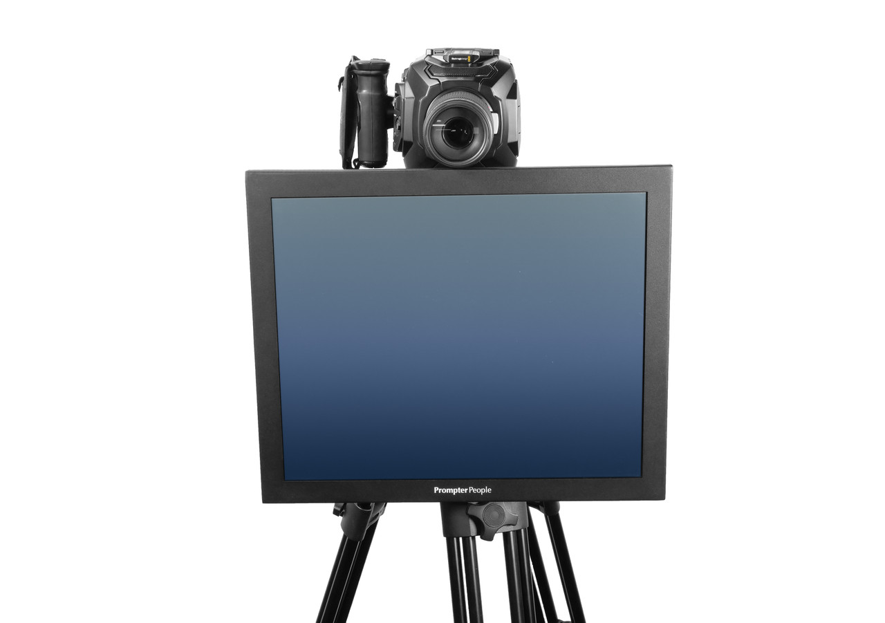Undercamera 19 HB Teleprompter - PrompterPeople with Freesoftware - Front