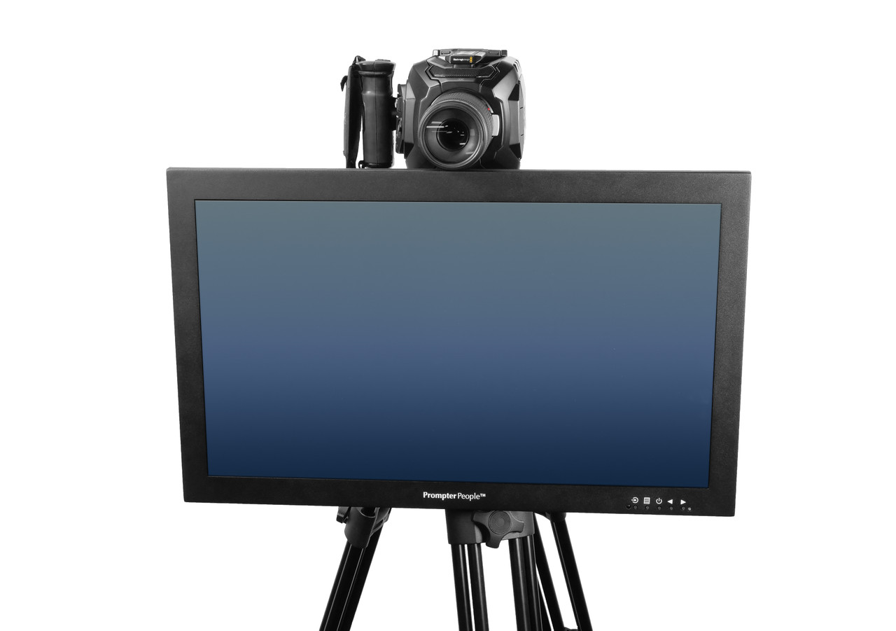 Undercamera 24 HB Teleprompter - PrompterPeople with Freesoftware - Front