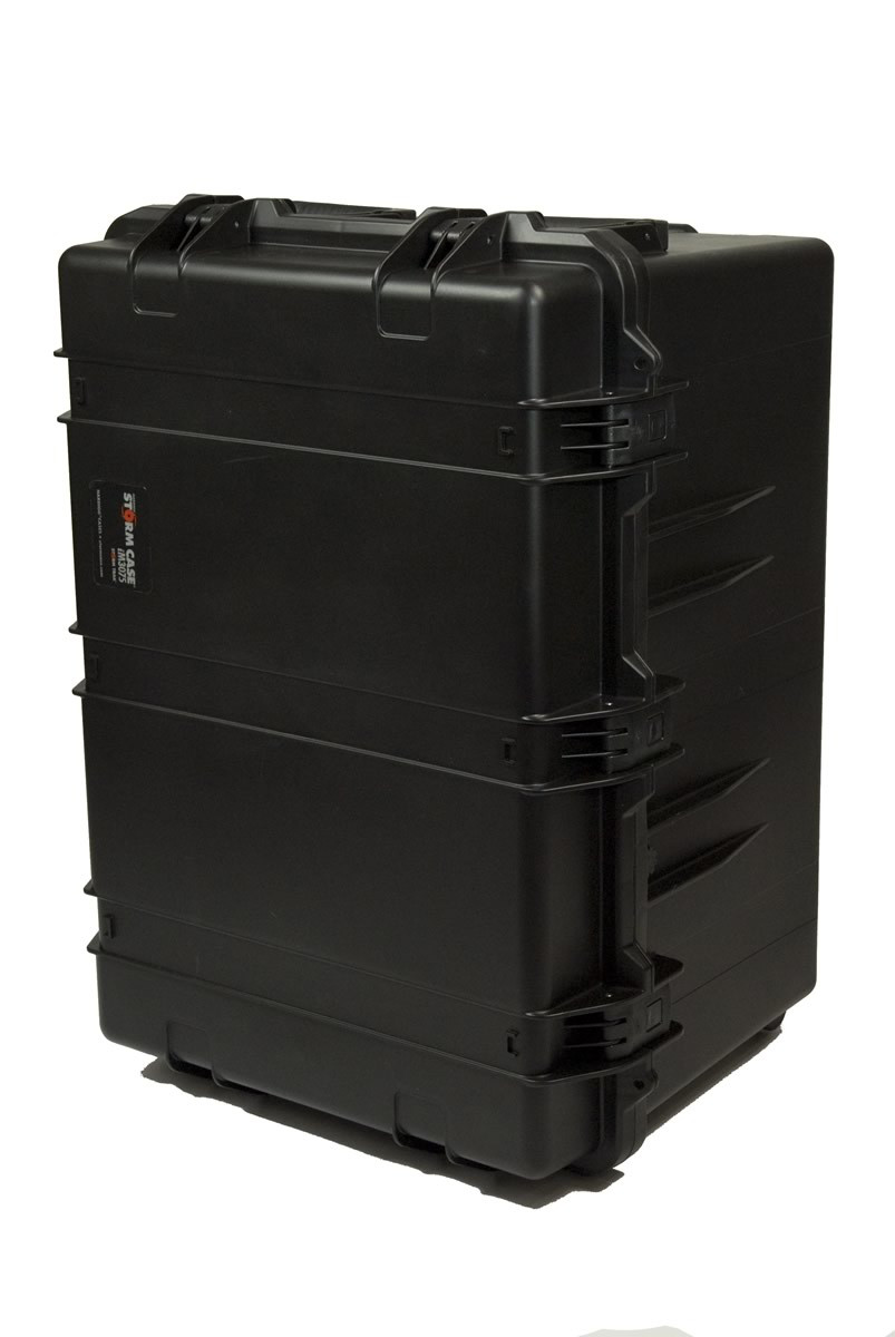 Prompter People - CASE-HS3075C - Heavy Duty Teleprompter Hardcase, Configured - Back