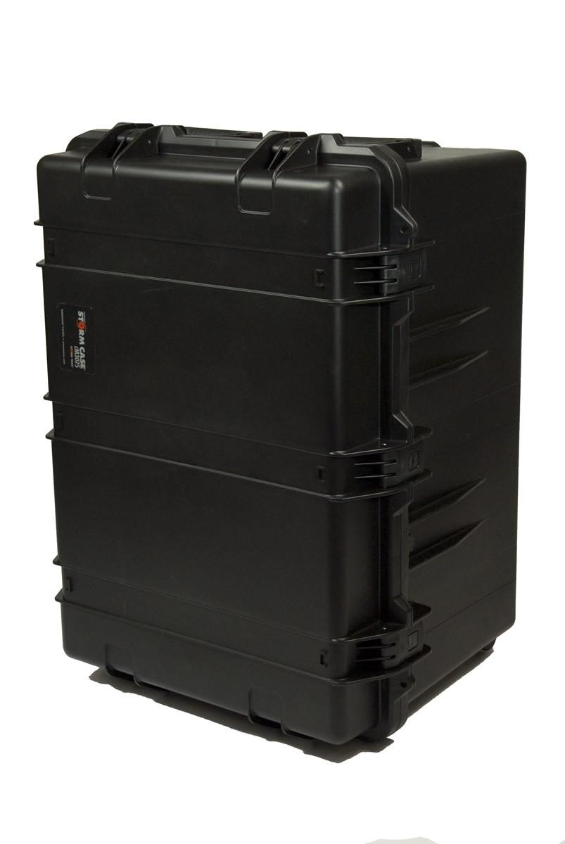 Prompter People - CASE-HS3075C - Heavy Duty Teleprompter Hardcase, Configured - Back