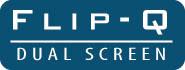 Flip-Q USB Teleprompting Software Logo DUAL
