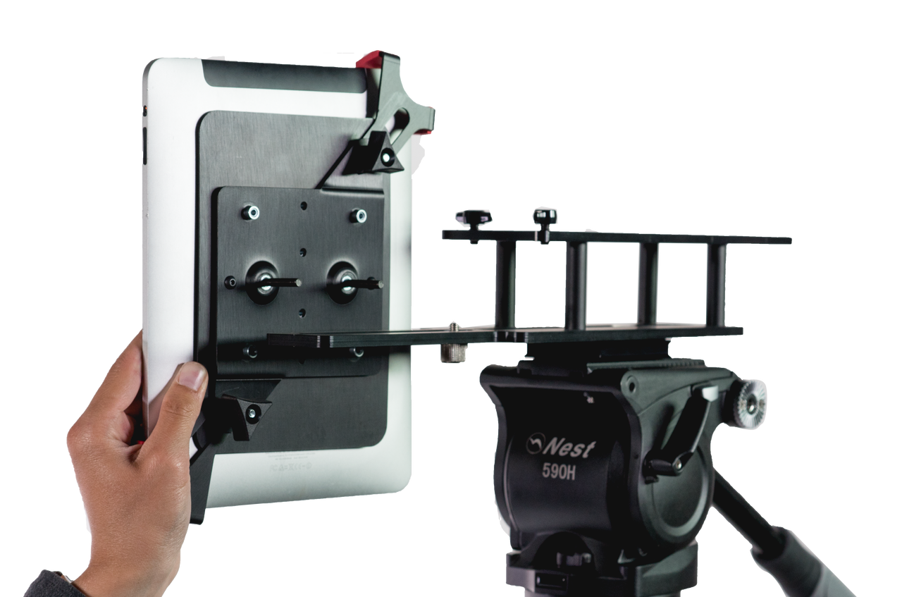 TabGrabber iPad Pro Teleprompter Side for UltraLight Series