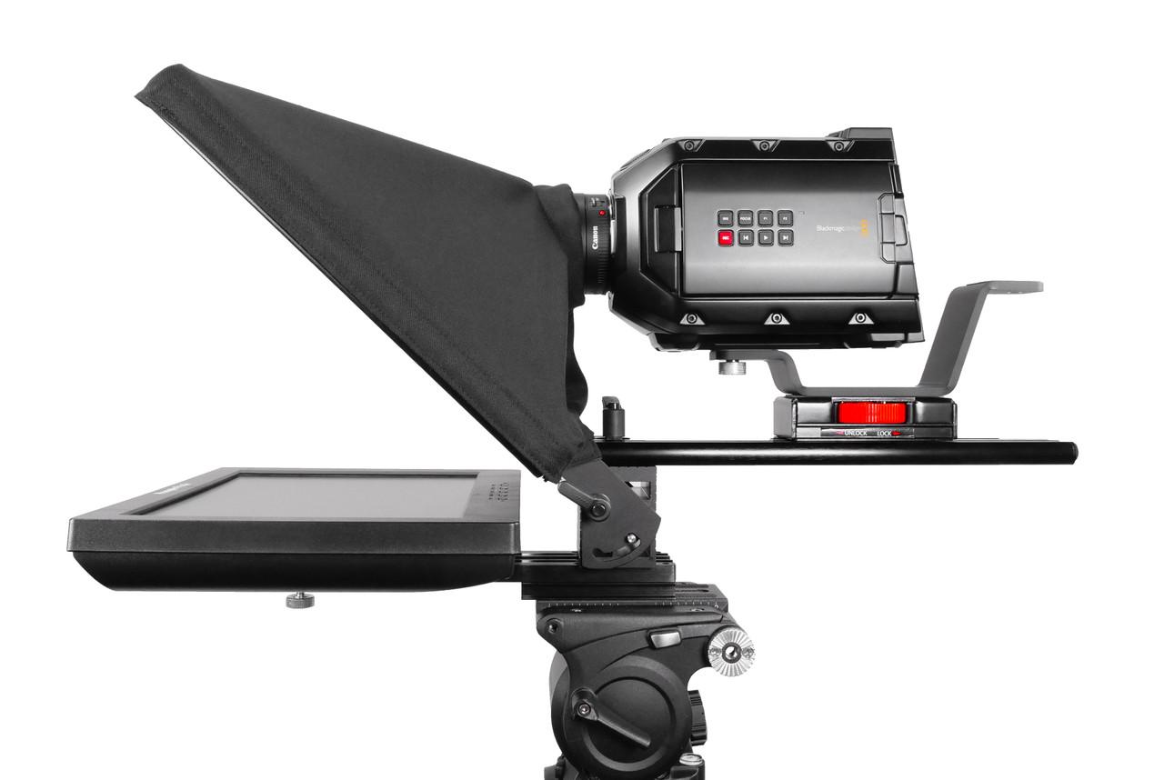"UltraFlex 12 Inch iPad Pro, Regular Monitor, and HighBright Monitor - Pictured with Regular 12"" Monitor - Side"