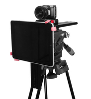 Under Camera iPad PTZ and Robotic Camera Teleprompter - Side Angled