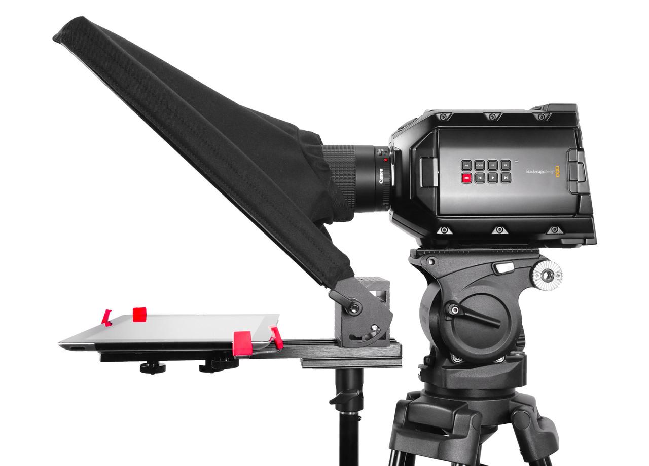 UltraFlex 12 iPad Pro FreeStanding Teleprompter Side