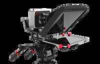 "UltraLight 10"" iPAD Teleprompter Left Angled"