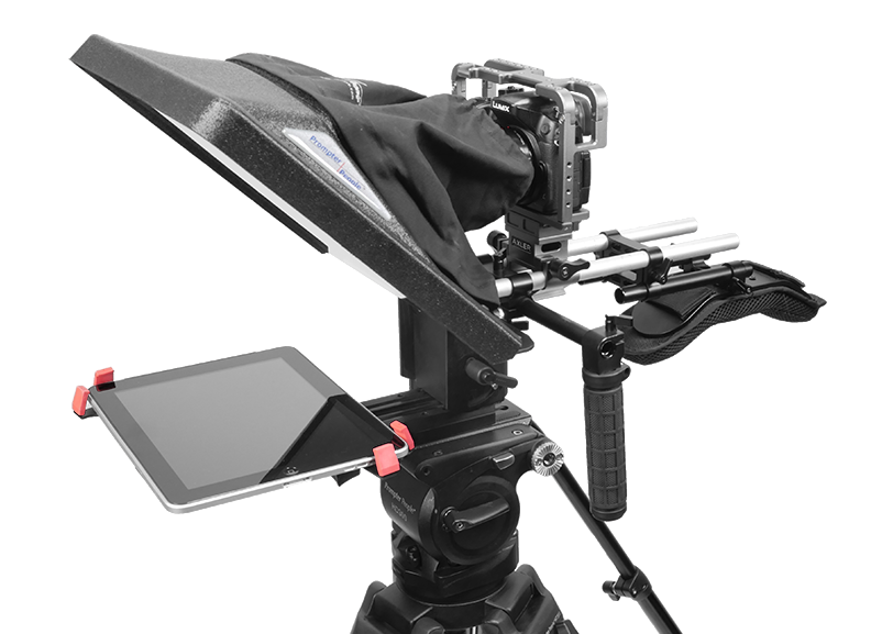 "Flex Plus 12"" iPad Pro - 15mm RailMount Teleprompter"