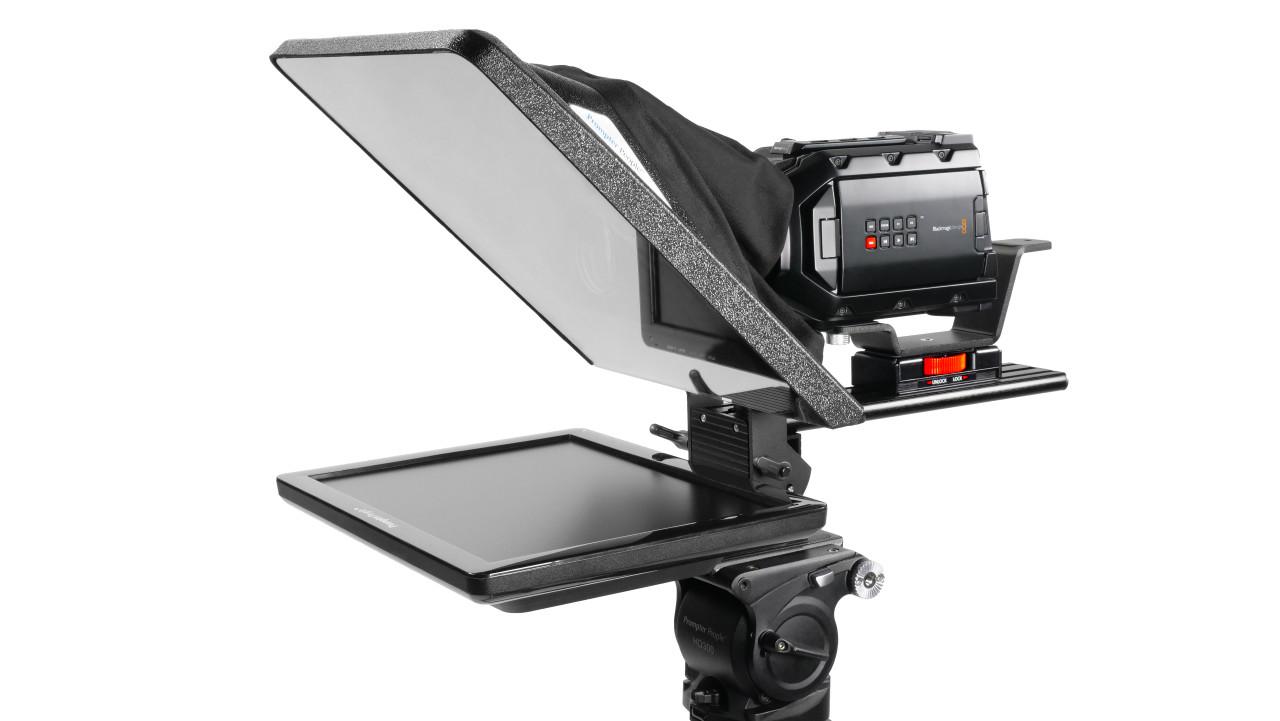 "Flex Plus 15"" 400NIT HDMI Auto-Reversing Monitor Teleprompter"
