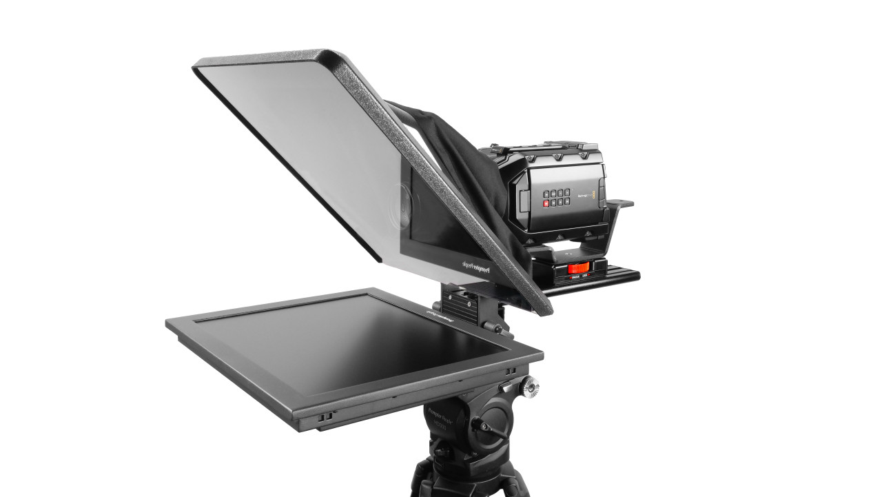 "Flex Plus 17"" HighBright 1000 NIT Auto-Reversing HD-SDI Monitor Teleprompter"