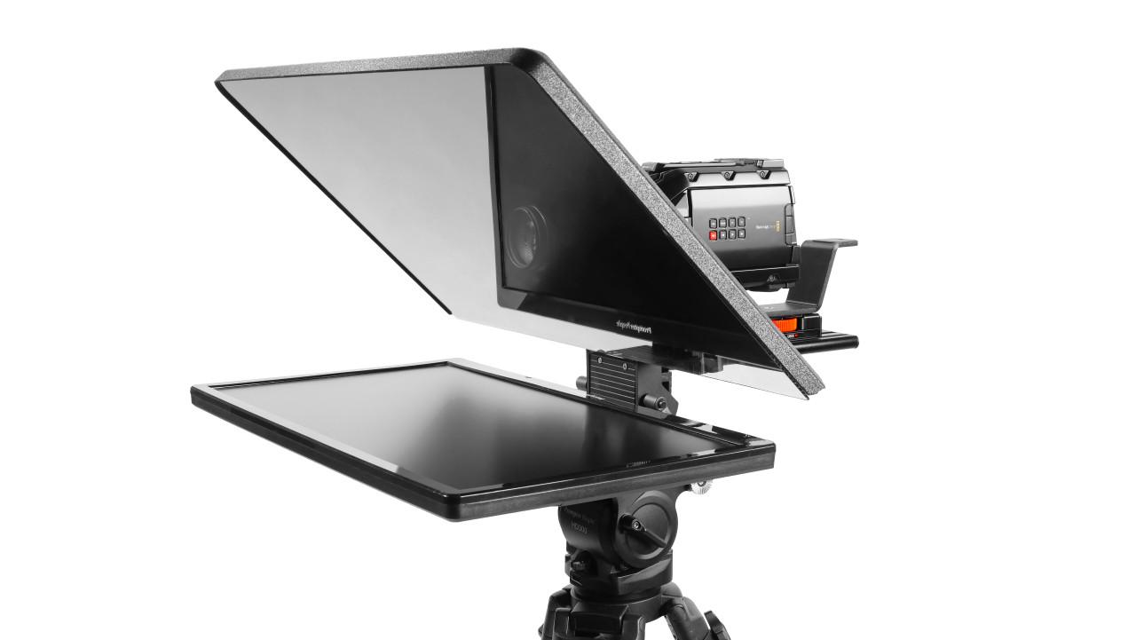 "Flex Plus 24"" 400NIT HDMI Auto-Reversing Monitor Teleprompter"