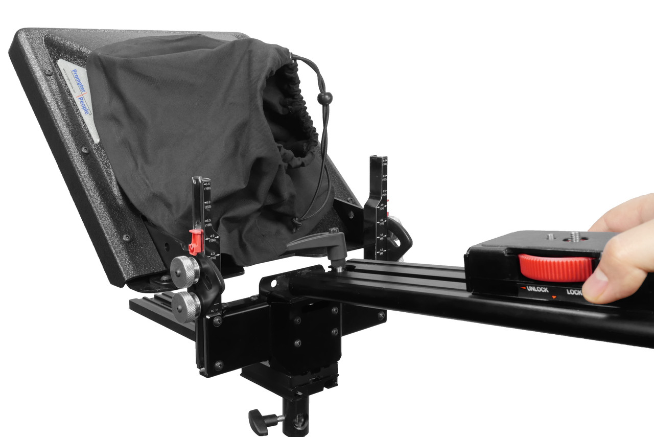 PrompterPeople ProLine Plus Teleprompter - Sled Removal