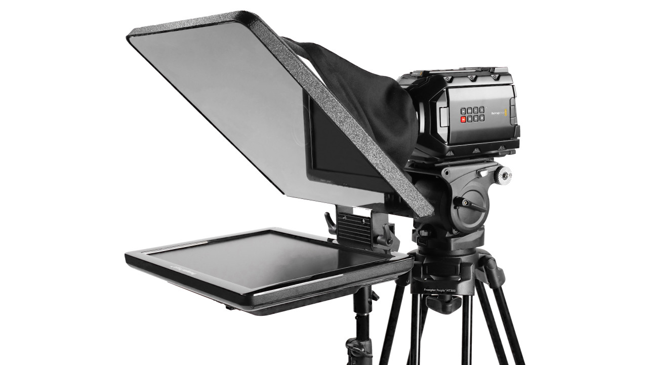 "Flex Plus FreeStand 15"" Regular HDMI Monitor Teleprompter"