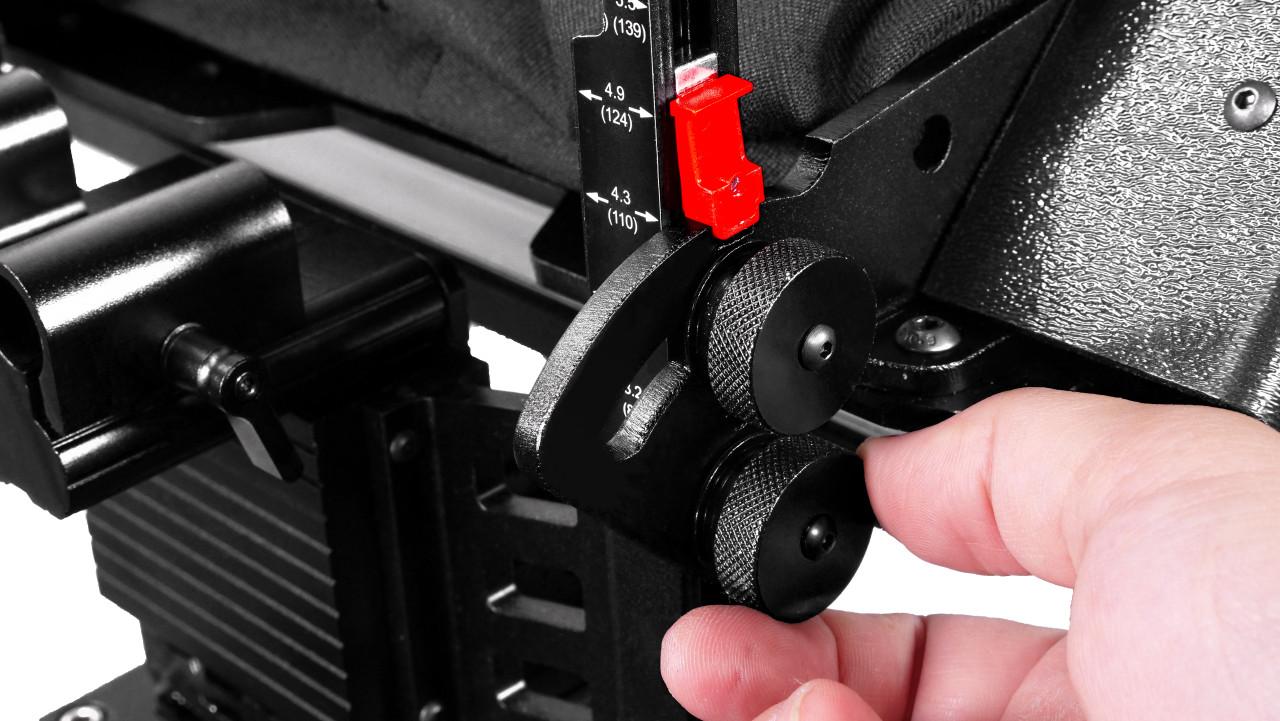 ProLine Plus RailMount 15mm Height Adjustment