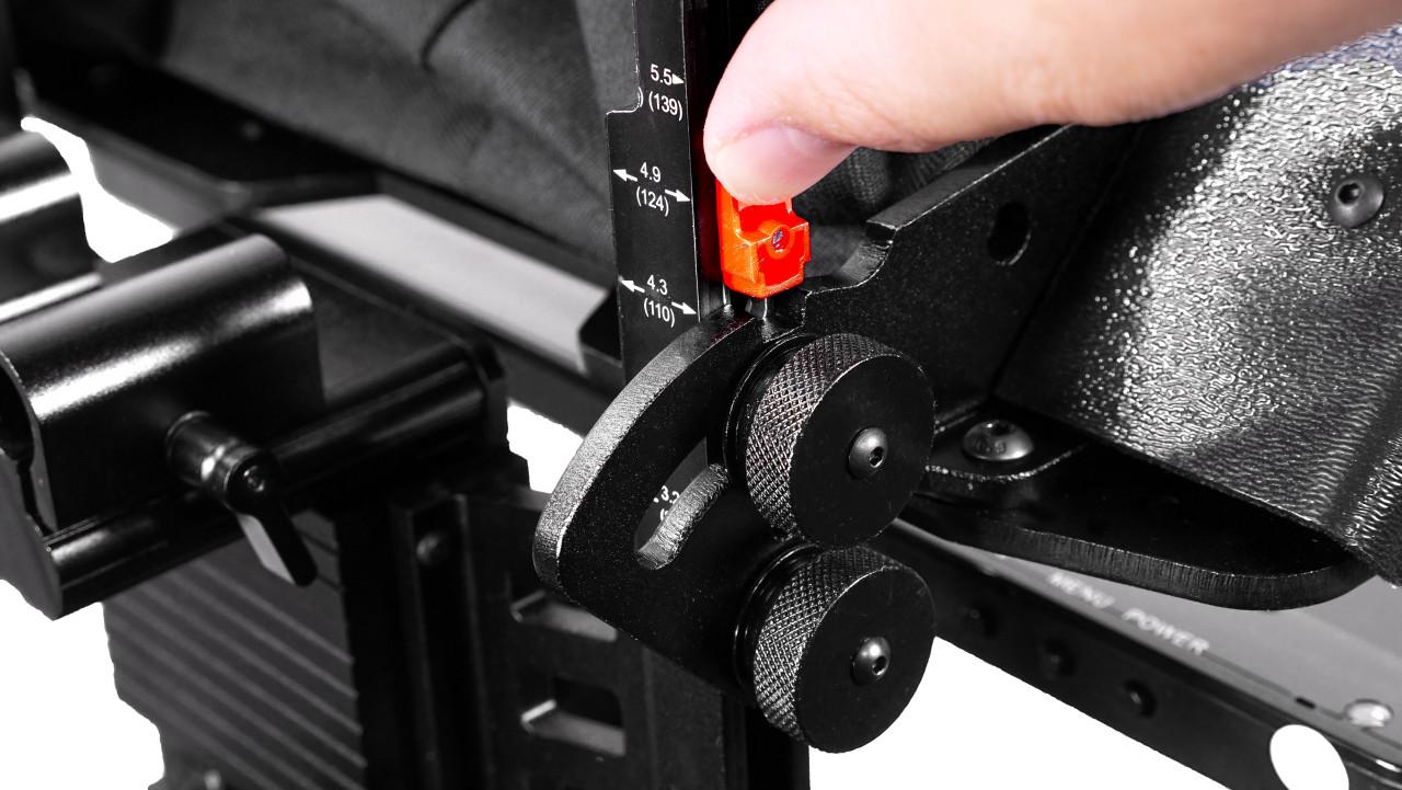 ProLine Plus RailMount 15mm Angle Lock