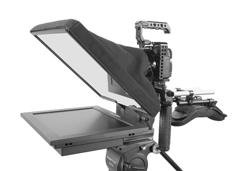 UltraFlex-12 15mm Rail-Mount Teleprompter  - HB Model