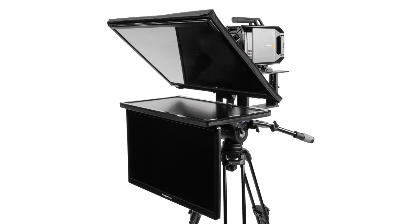 PrompterPeople Talent Monitor - with Signal QGear - Robo - Robo Jr - UltraLight