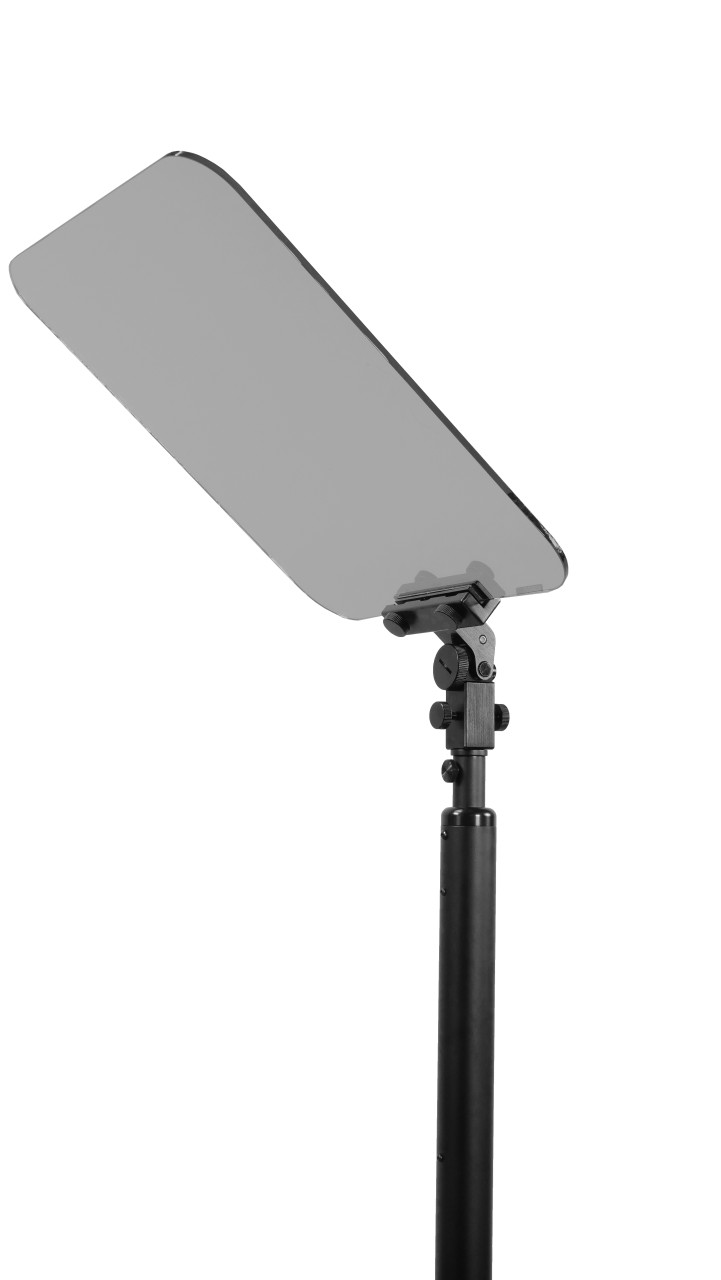 AutoStepper Conference Teleprompter 50/50  Beamsplitter Glass