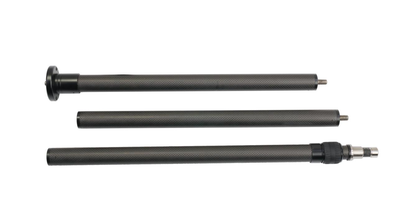 Carbon Fiber Poles Breakdown 3 Pieces