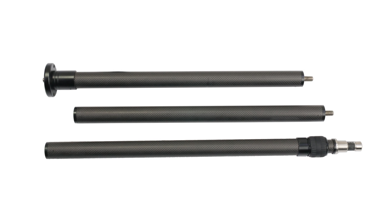 Carbon Fiber Poles Breakdown 3 Pieces