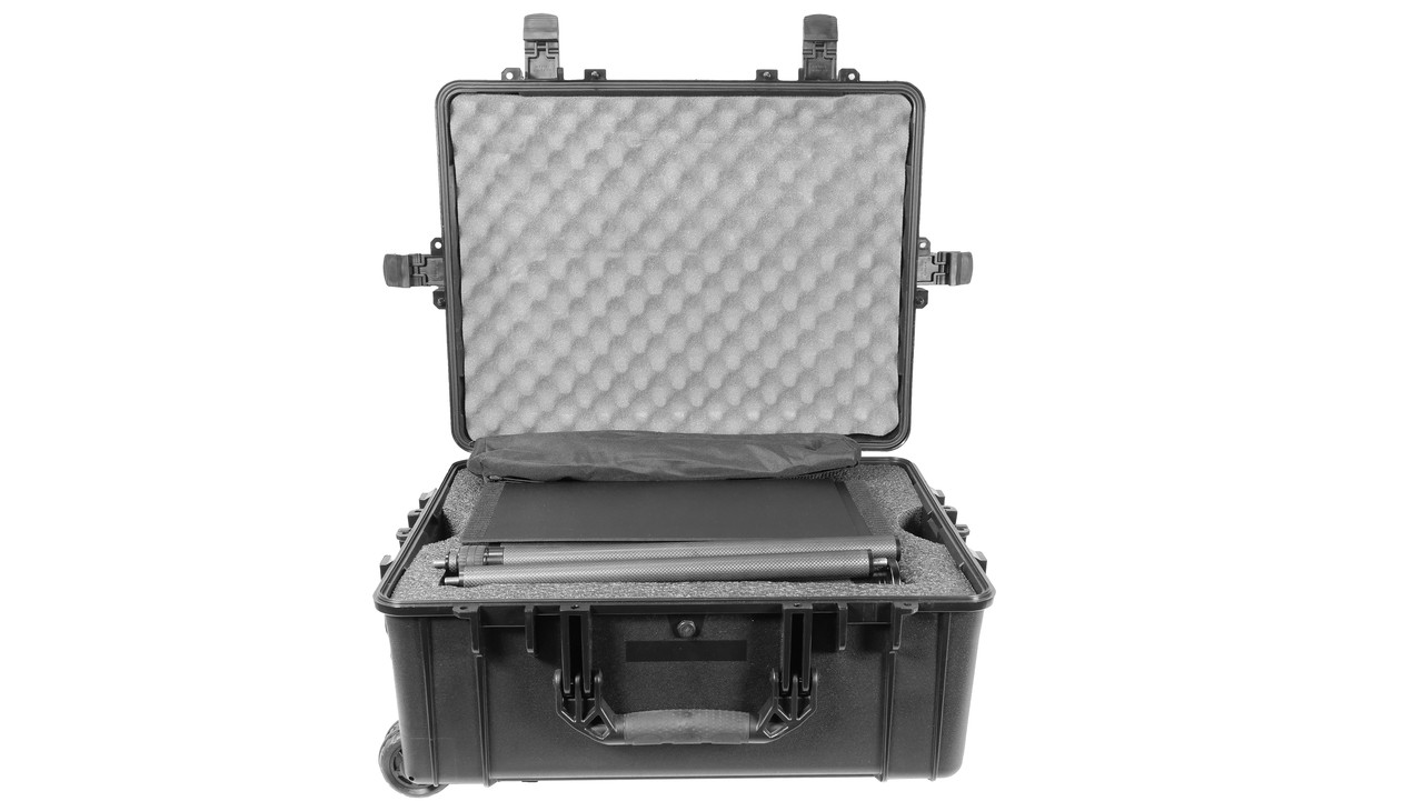 Stage Pro Carbon Fiber portable - collapsable poles - Travel Case KIT