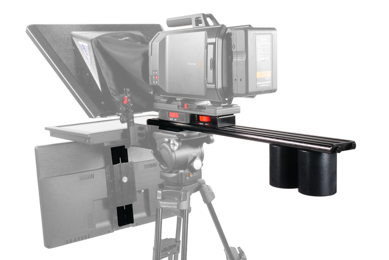 Plus Model Long Sled Add-on for plus models with LowBoy, Tripod Adapter Plate, Vesa Plate, and 2 x Back Weight (Talent Monitor Kit)