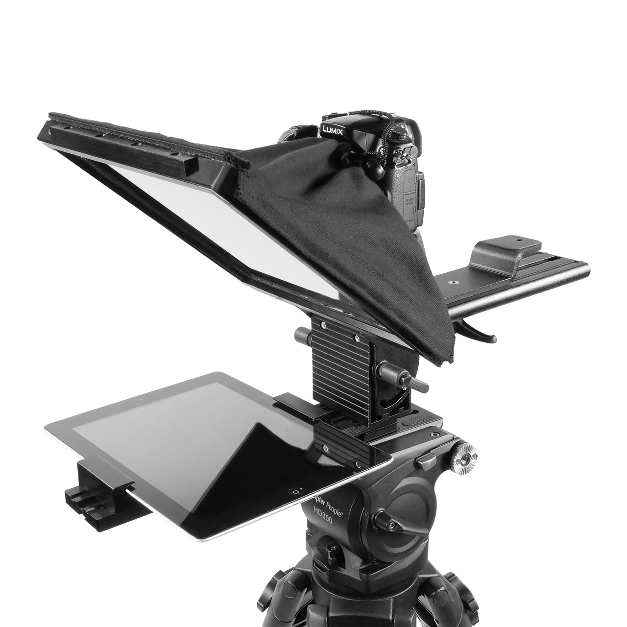 "PrompterPal Affordable 10"" Prompter DSLR Sled"