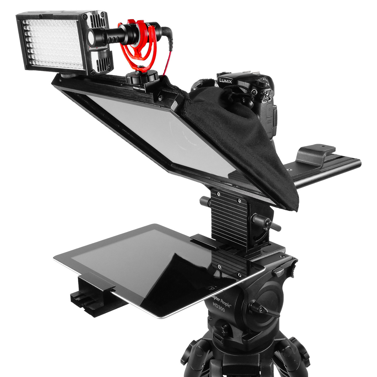 "PrompterPal Affordable 10"" Prompter - Top Attachments"