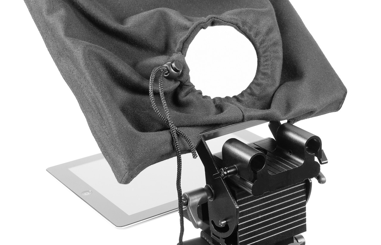 "PrompterPal Affordable 10"" Prompter - 15mm Plus Block"