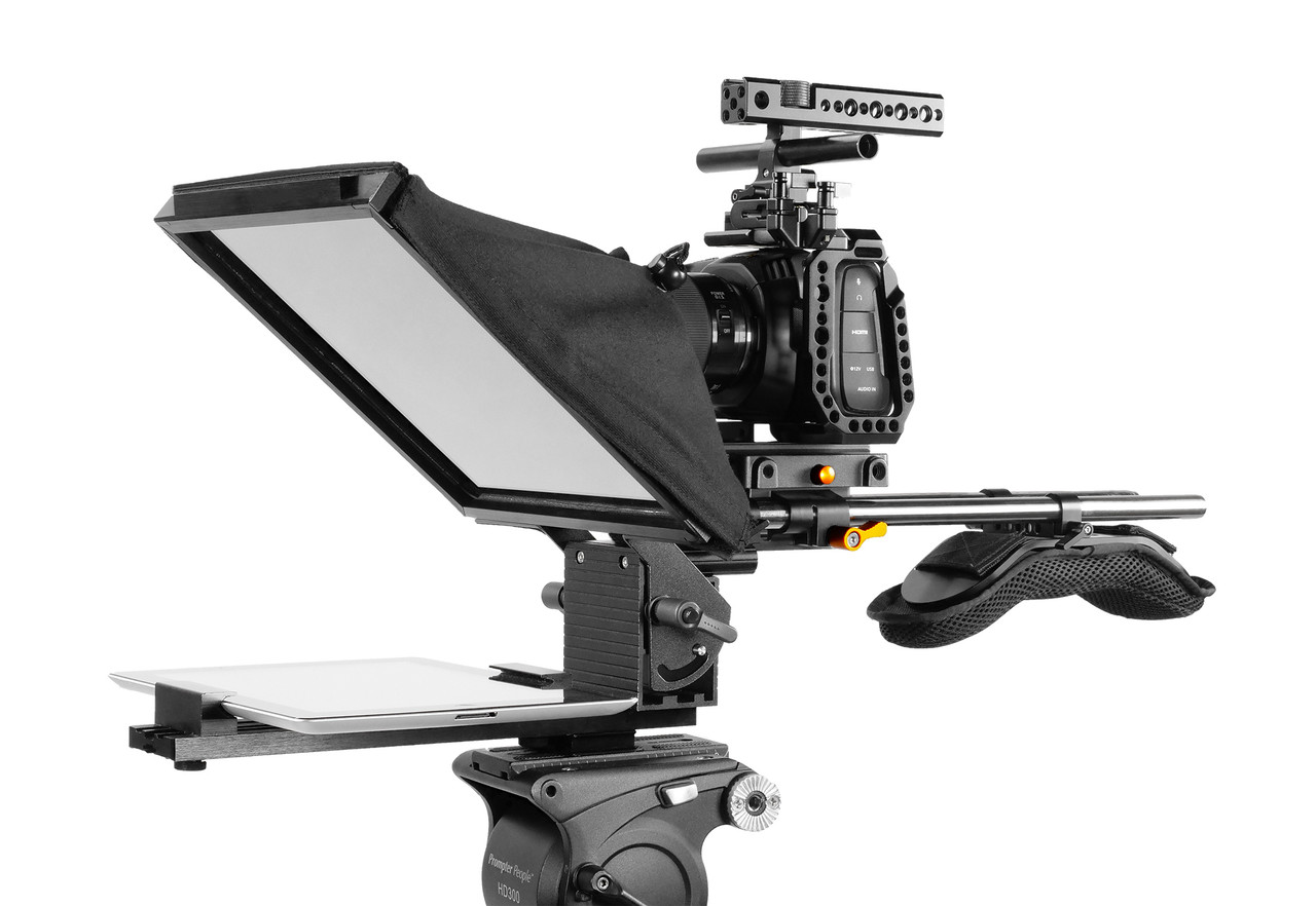 "PrompterPal Affordable 10"" Prompter - 15mm Plus Model"