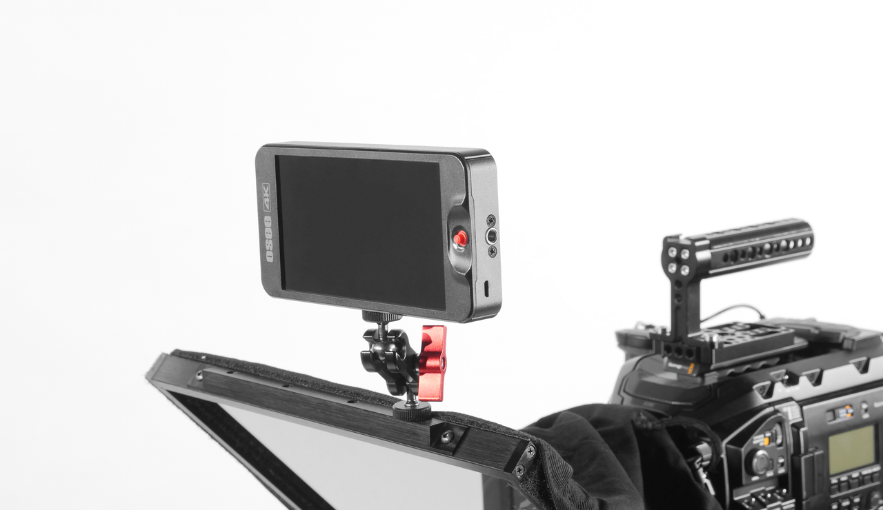 Top Mounting Bar Monitor - Prompter Pal