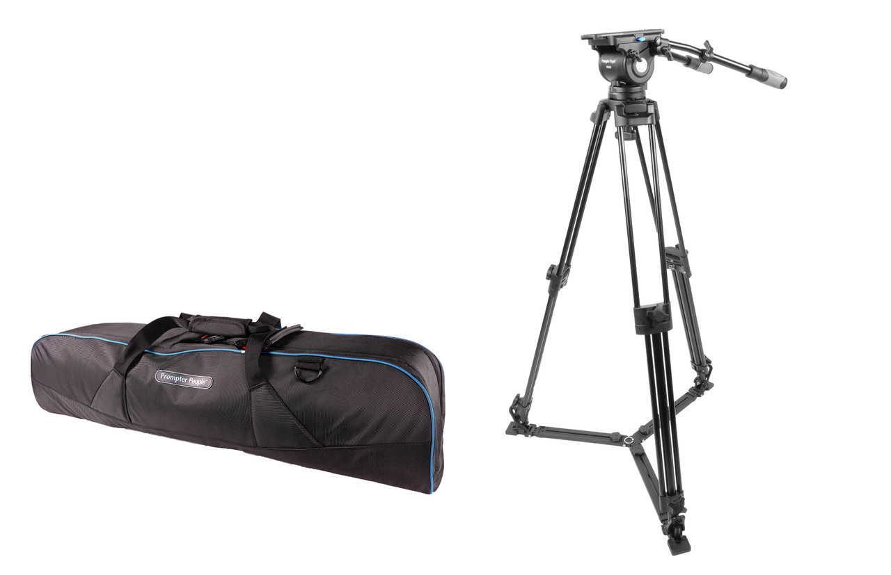 PrompterPeople Heavy Duty Tripod HD-500 50 LB Tripod - with SoftBag