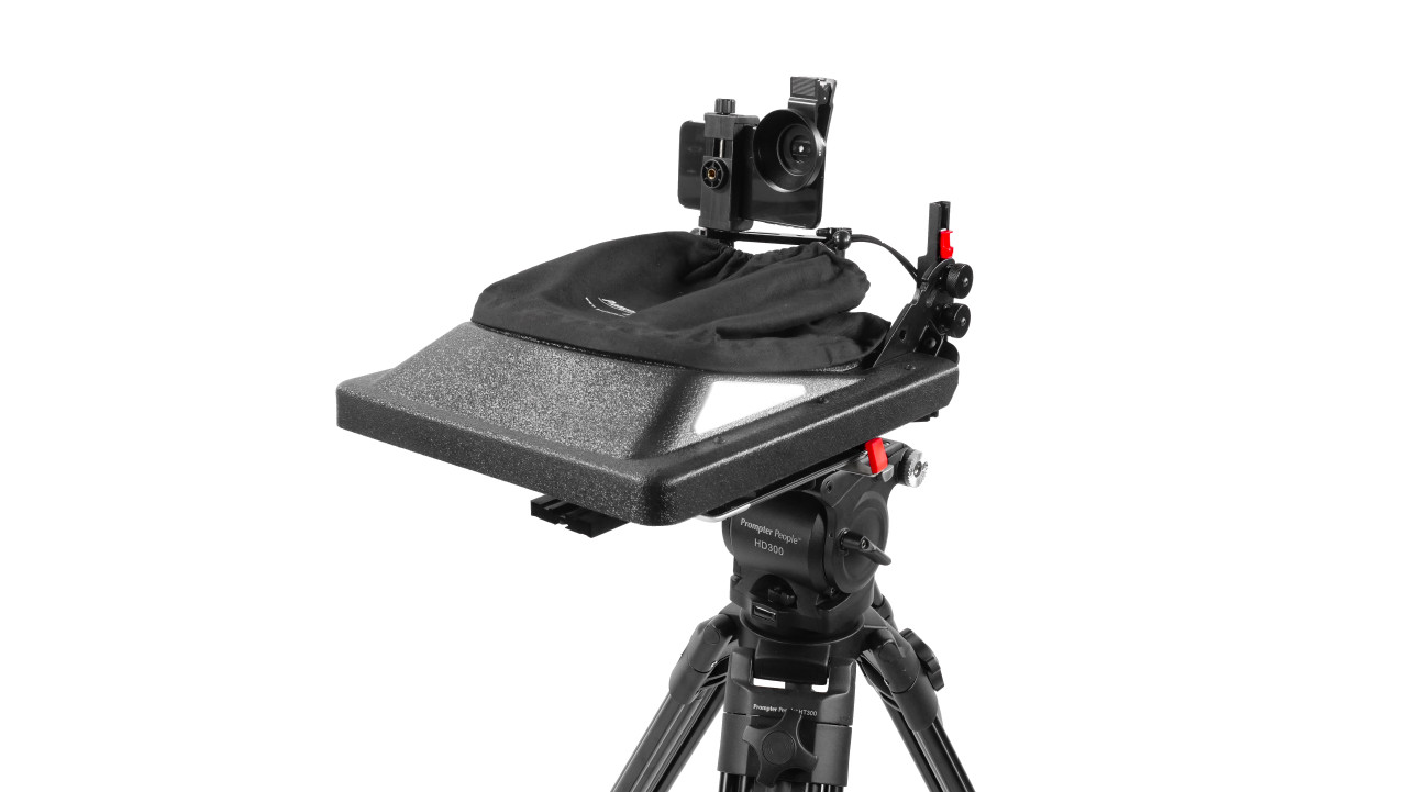 ProLine Plus Teleprompter Hood Fold Phone Adapter