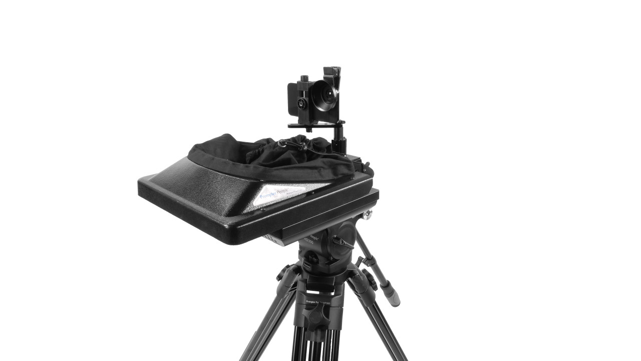 Flex Plus Teleprompter Hood Fold Phone Adapter
