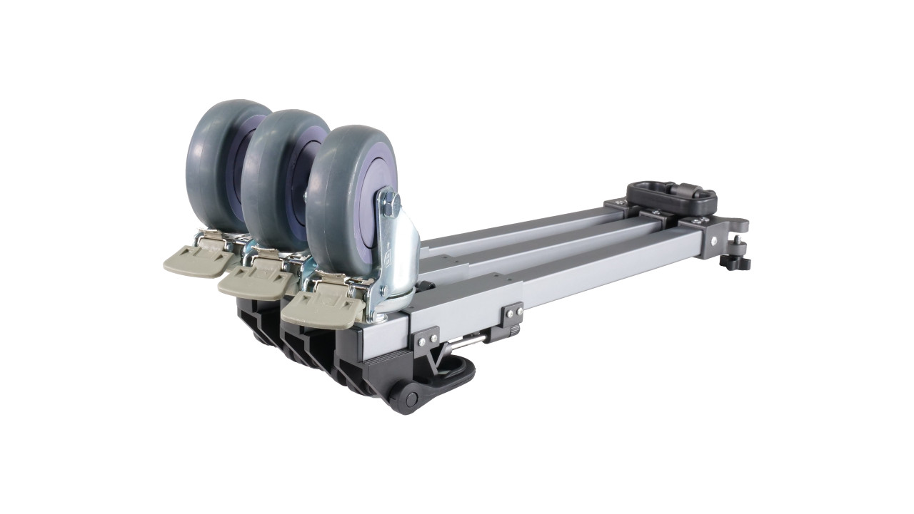 Prompter People Heavy Duty Dolly - Folded Angled