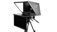 "Robo 24"" Regular PTZ Camera inside  Robotic and PTZ Camera Broadcast and Studio Teleprompter with 24"" HDMI Regular Talent Monitor"