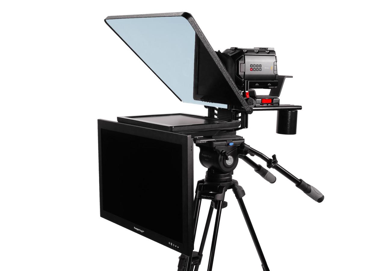 "ProLine Plus 15"" Studio (Trapezoidal) Regular Auto-Reversing HDMI with 24"" HighBright 1000 NIT HD-SDI Talent Monitor"