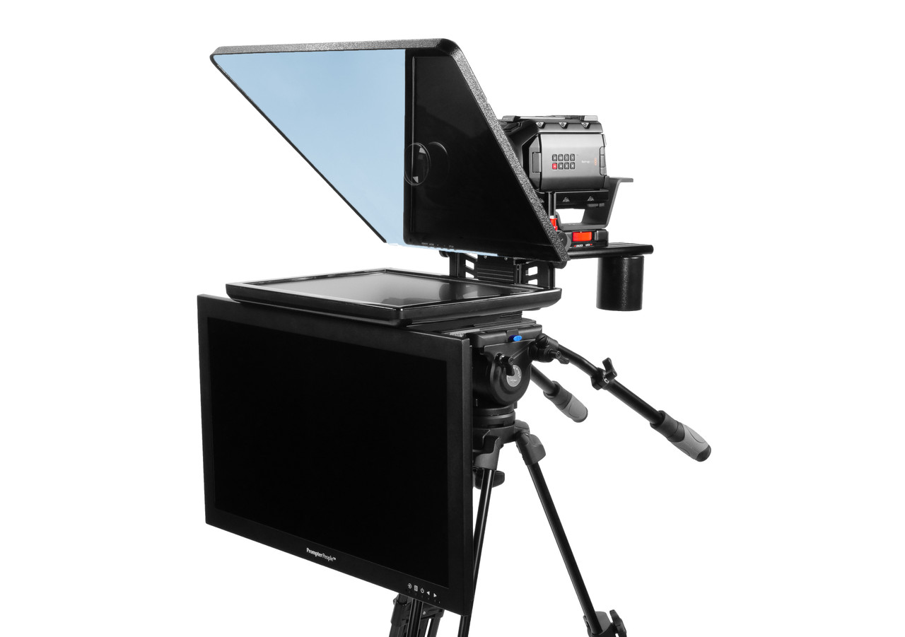 "ProLine Plus 17"" Studio (Trapezoidal) Regular Auto-Reversing HDMI with 24"" HighBright 1000 NIT HD-SDI Talent Monitor"